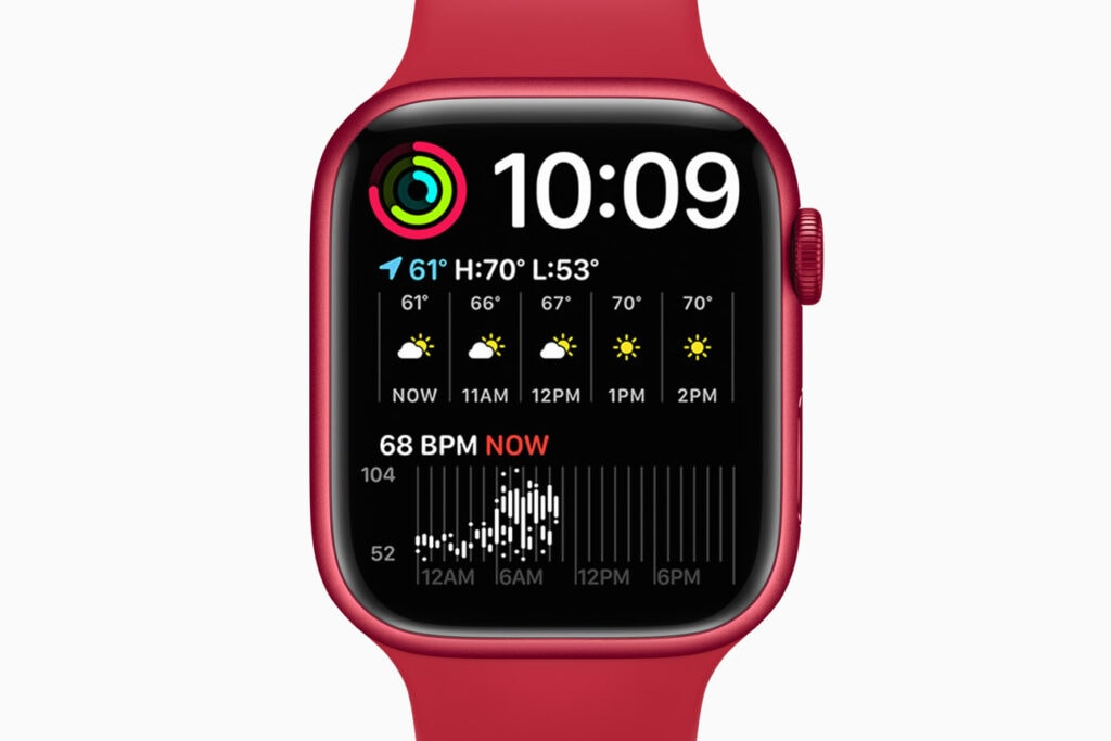 Rote Apple Watch 7